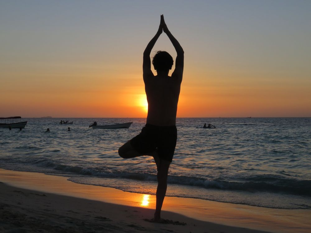 best time yoga weight loss sunset