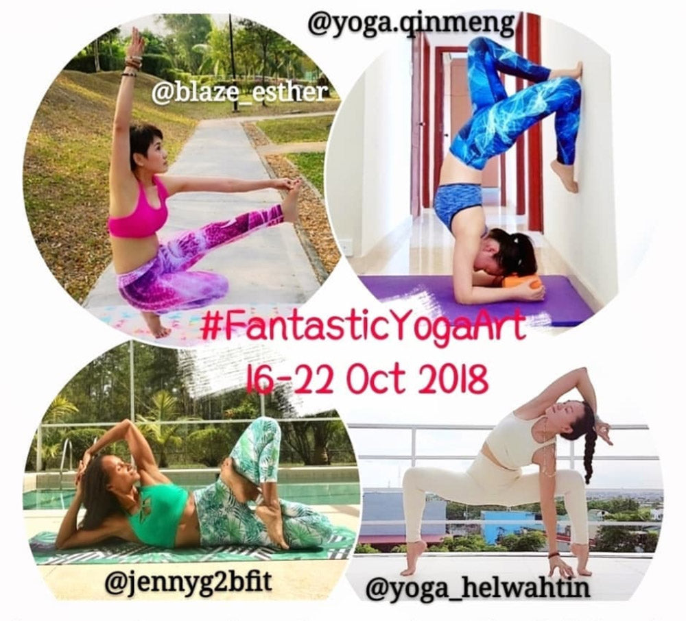 yoga challenge October 2018 fantastic