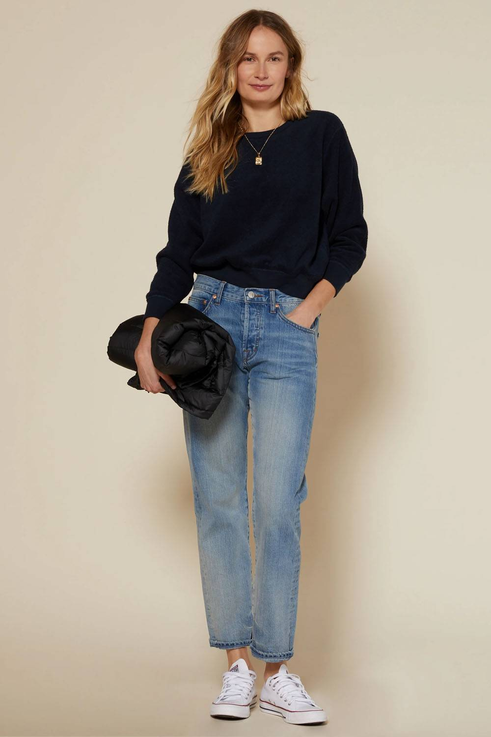 outerknown cute jeans outfit ideas