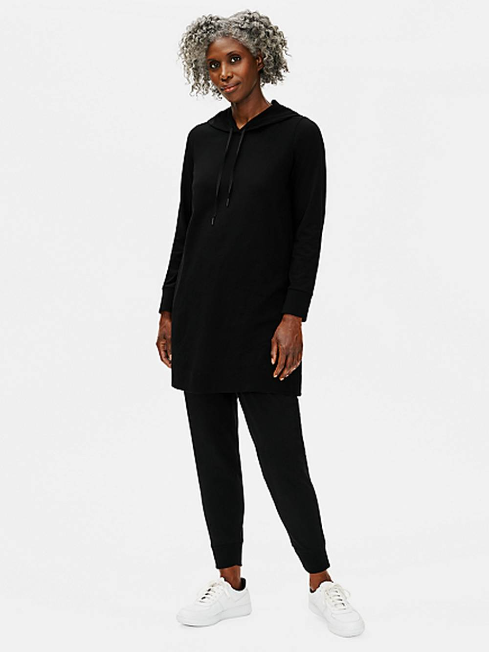 eileen fisher sustainable affordable sweater dress