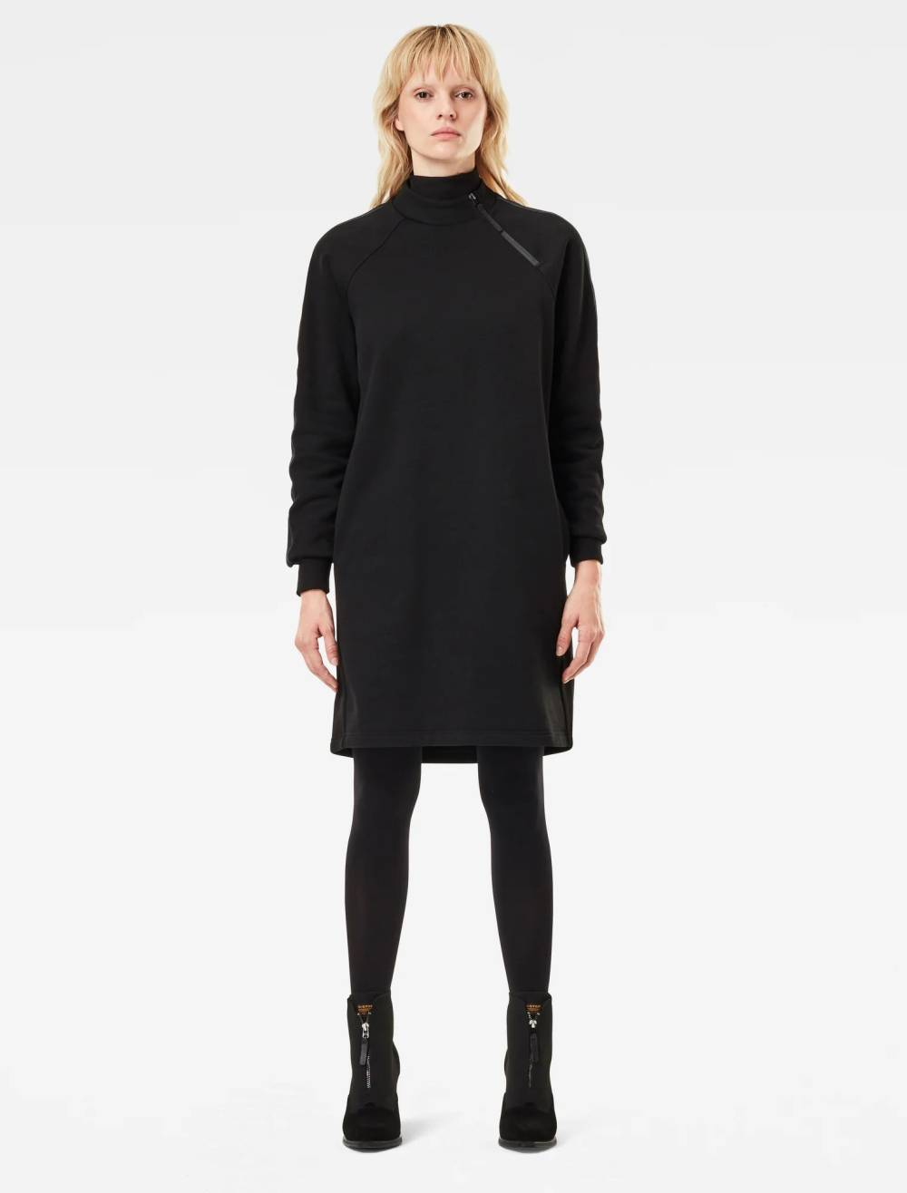 g star raw cheap turtleneck dress