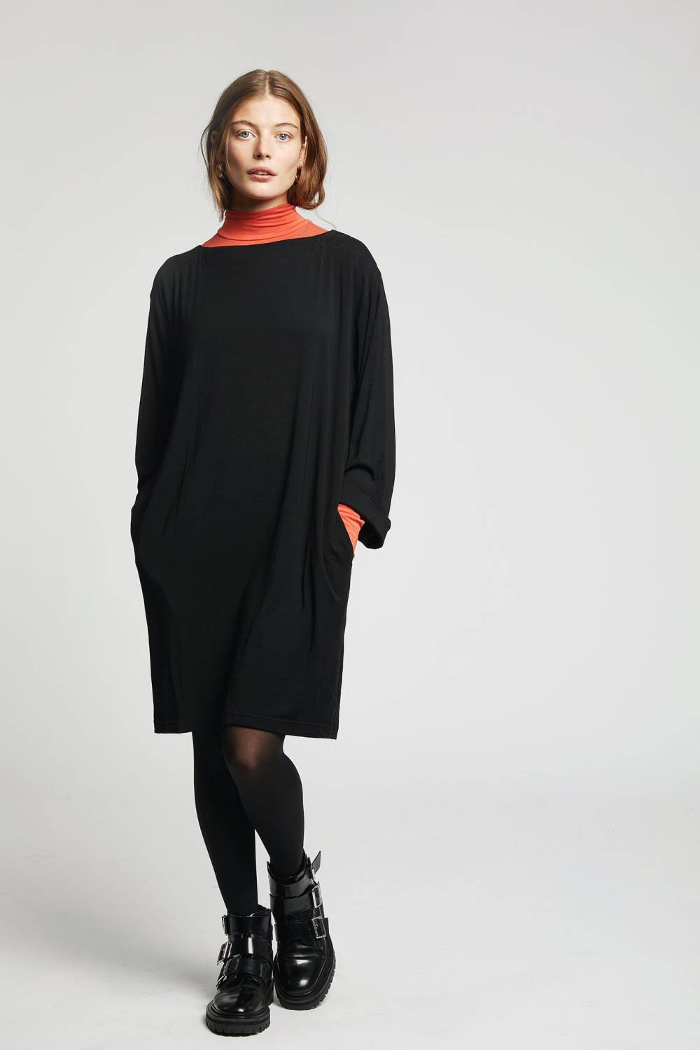 komodo sustainable cheap sweater dress