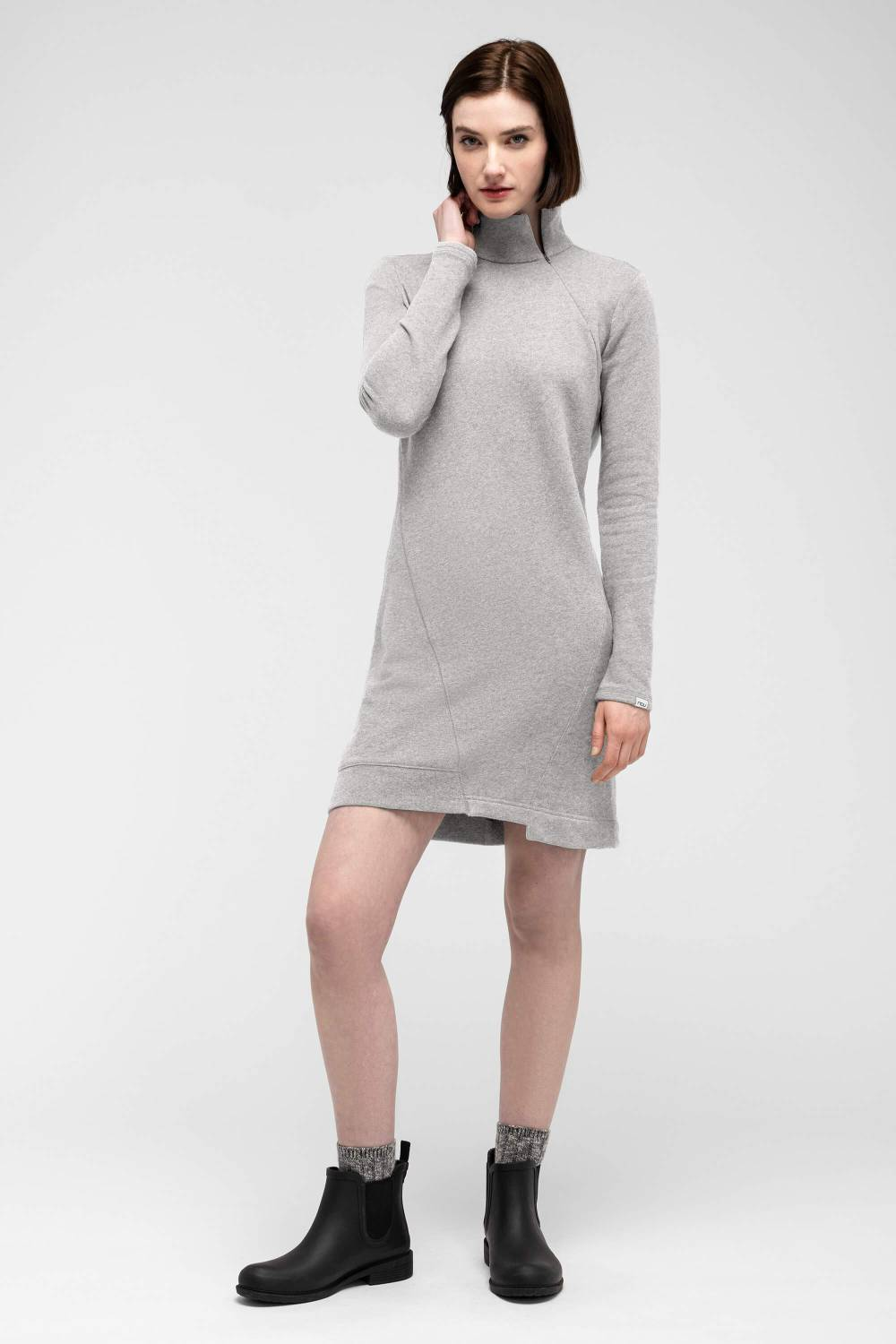 nau sustainable cheap sweatshirt dress