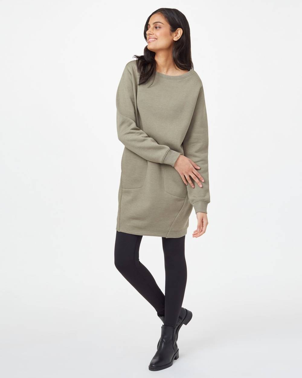 tentree cheap cute sweater dress