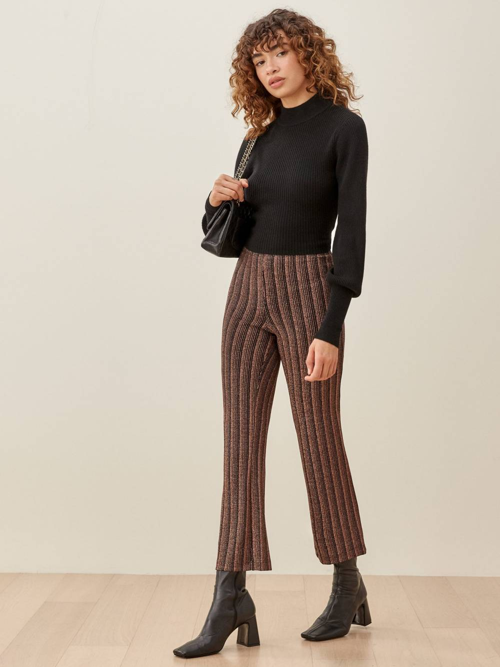 reformation cheap womens patterned pants