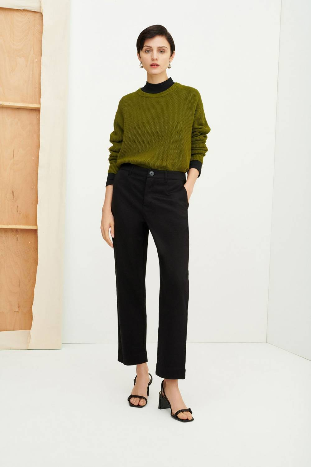 kowtow christmas lounge party outfit