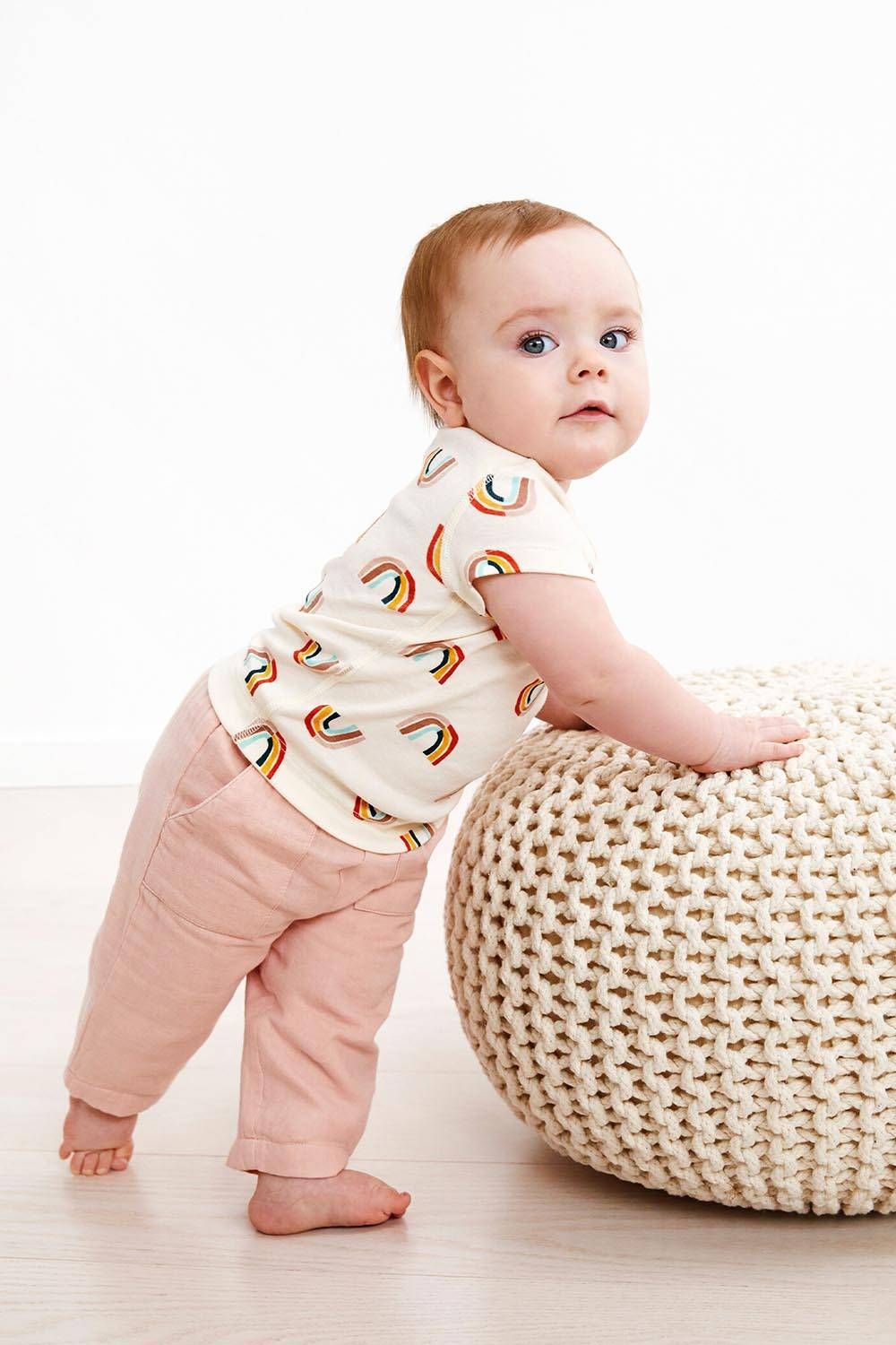 hanna andersson cute outfit baby girl easter
