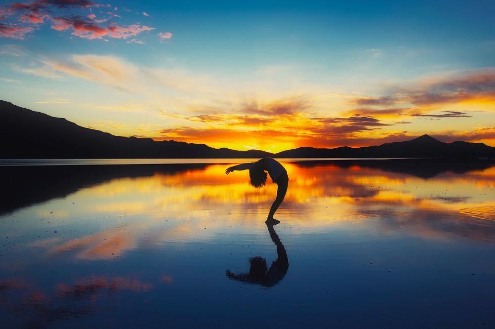 sunset forrest different yoga types