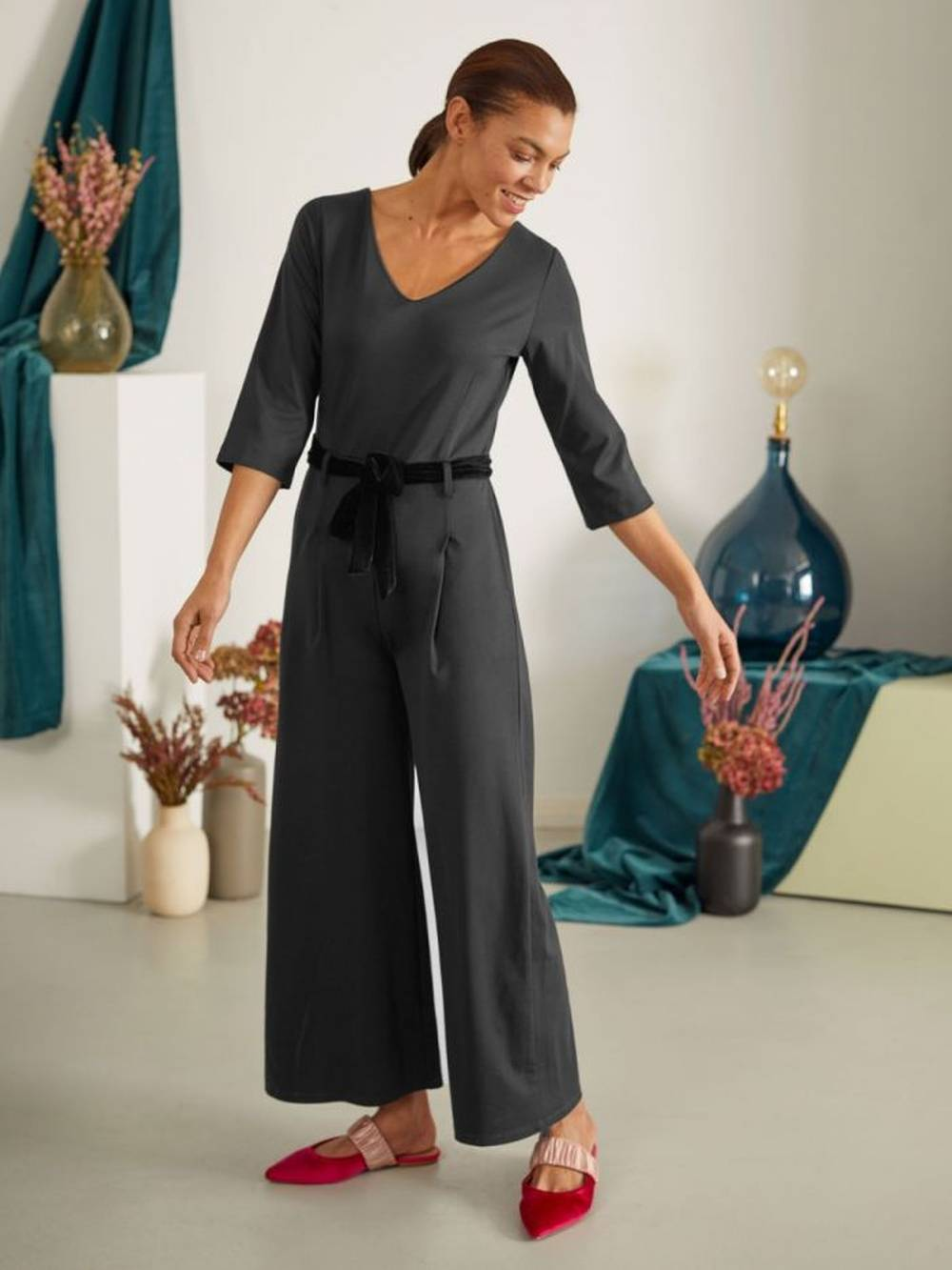 thought jersey petite hourglass jumpsuits