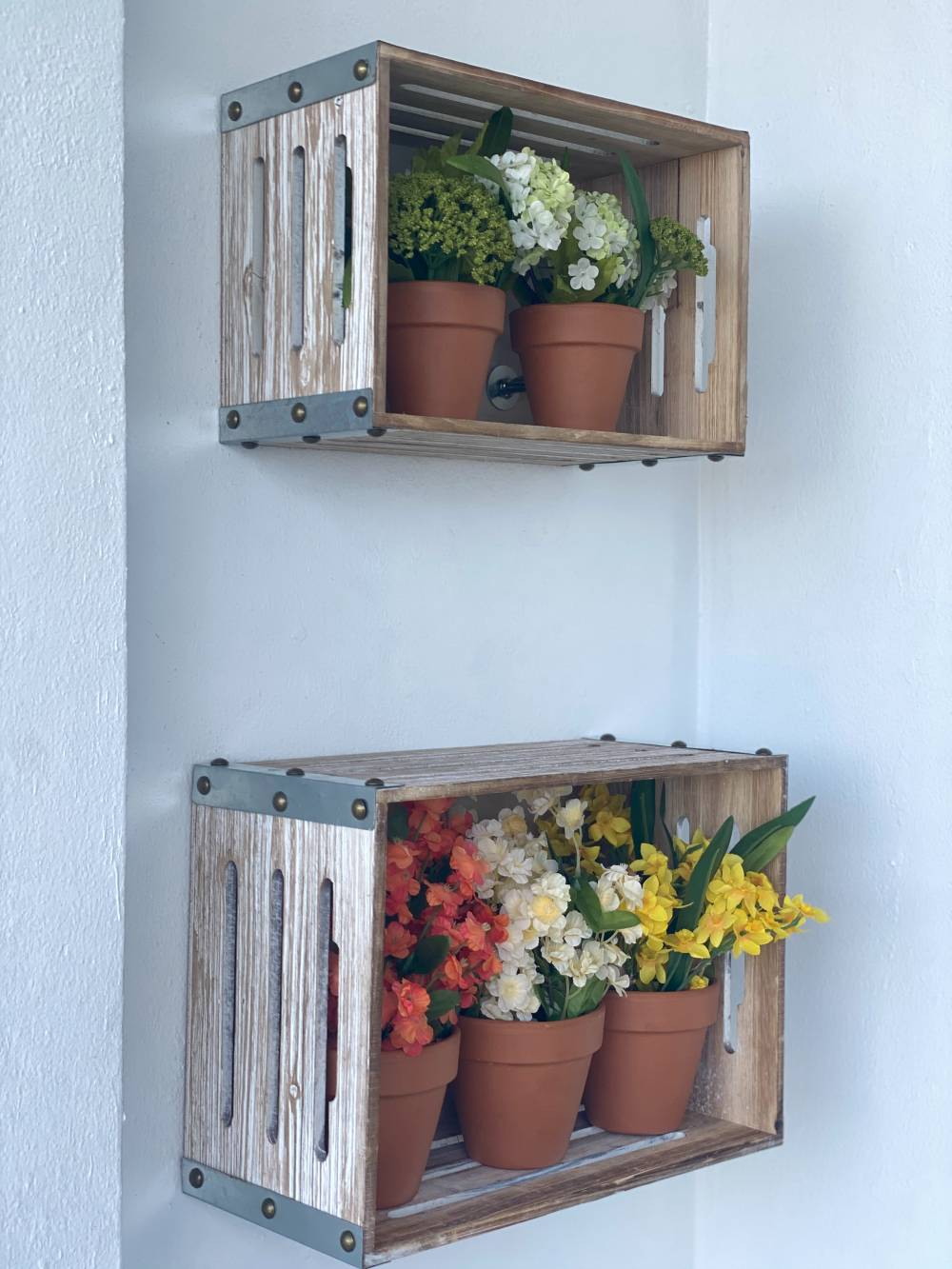 cheap sustainable wooden storage crates