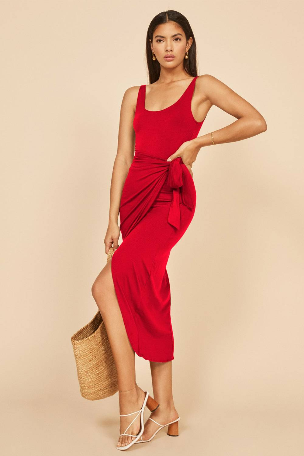 reformation special occasion evening dress