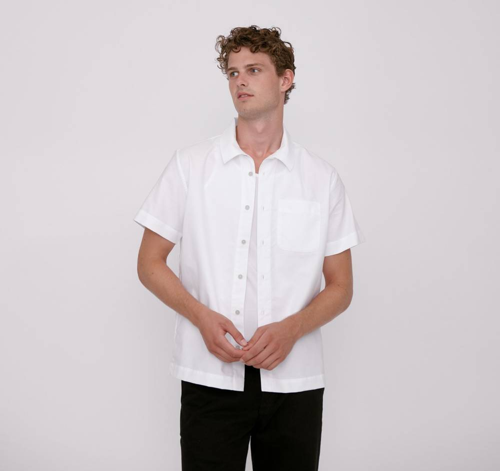 organic basics mens sustainable shirt