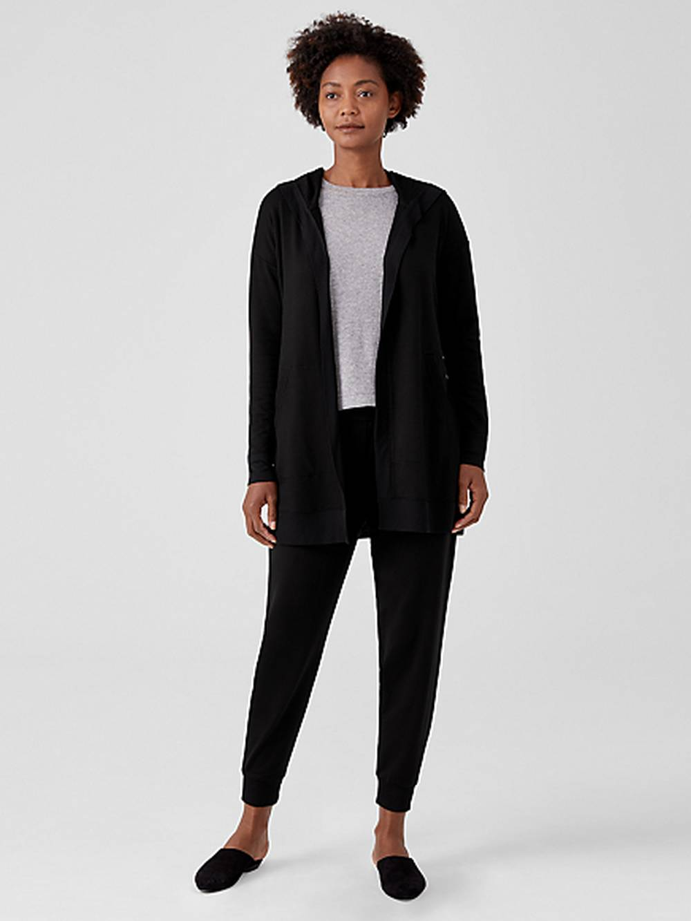 eileen fisher sustainable plus size clothing