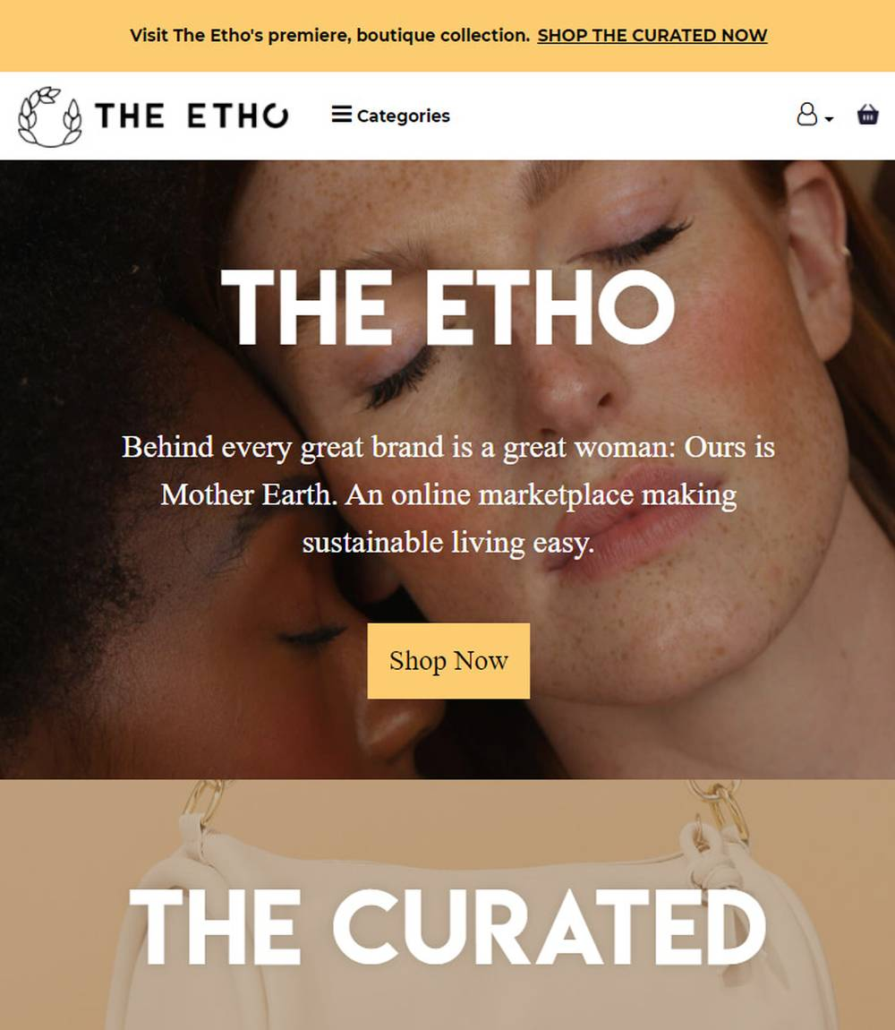 the etho ethical fashion store