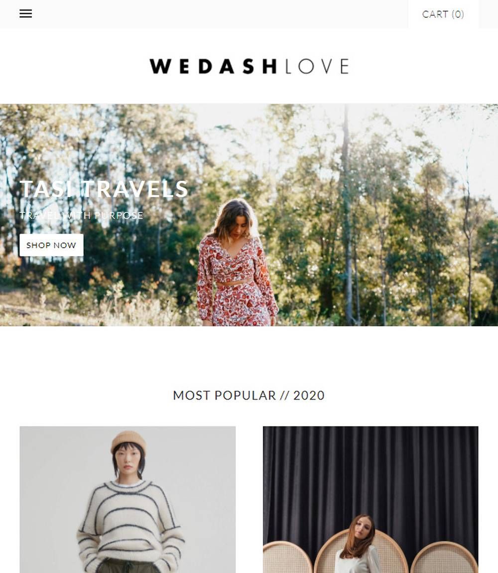 we dash love ethical online store