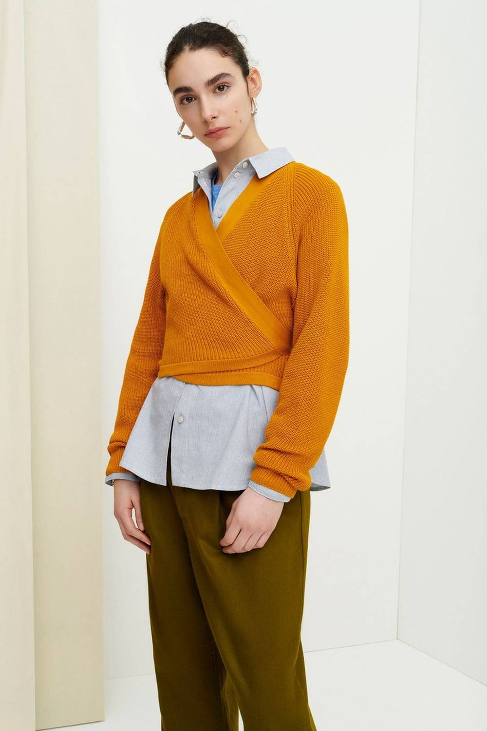 kowtow sweater sustainable organic ethical