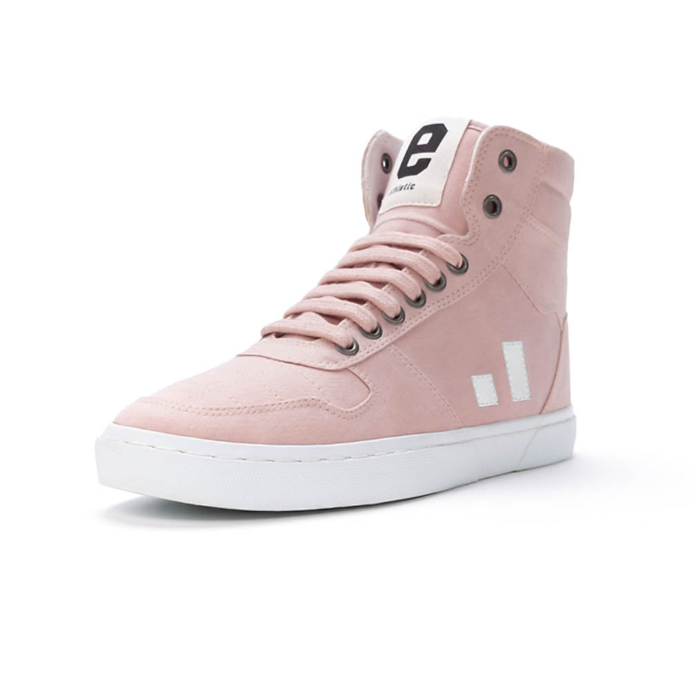 ethletic pink sneaker pin