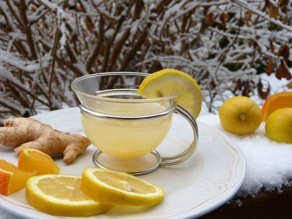 ginger tea benefits stress relief