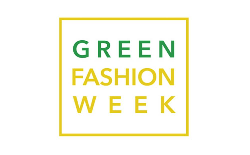 green fashion week logo