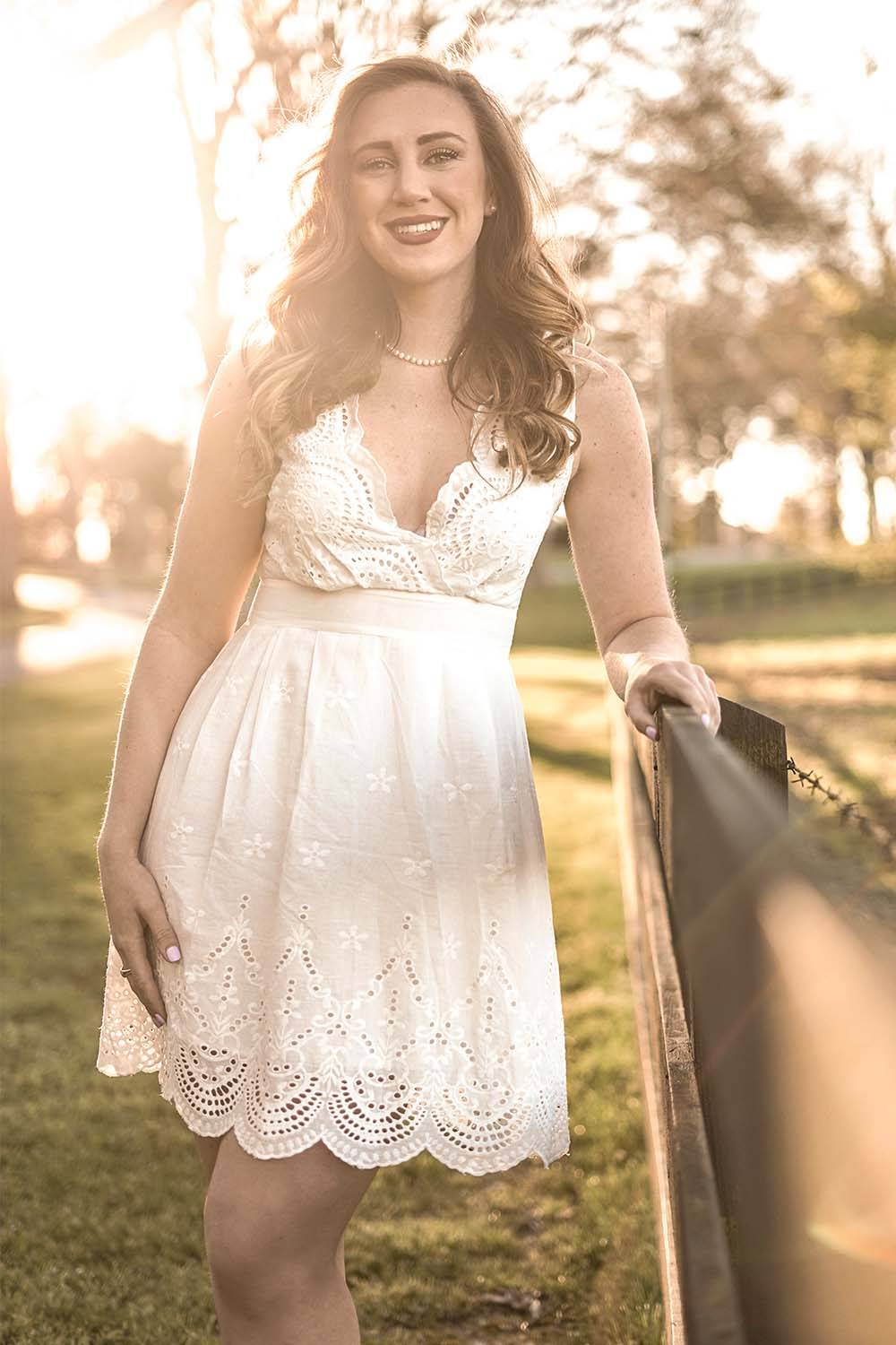 dress look younger naturally girly