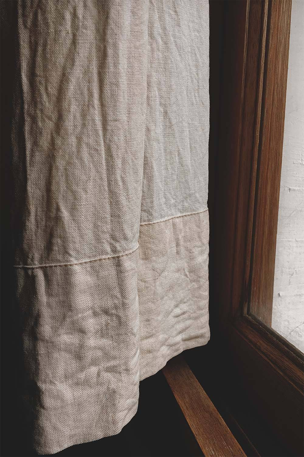 check quality linen imperfection