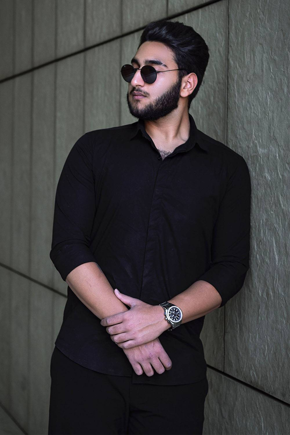 simple outfit dress masculine man
