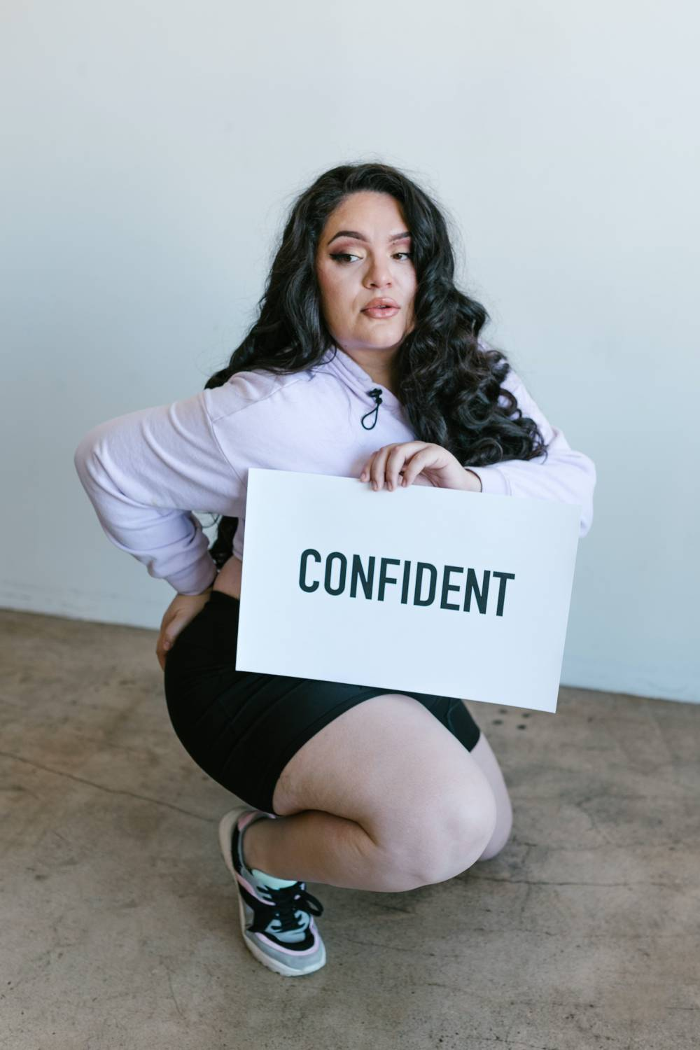 Dress Professionally When Overweight confident