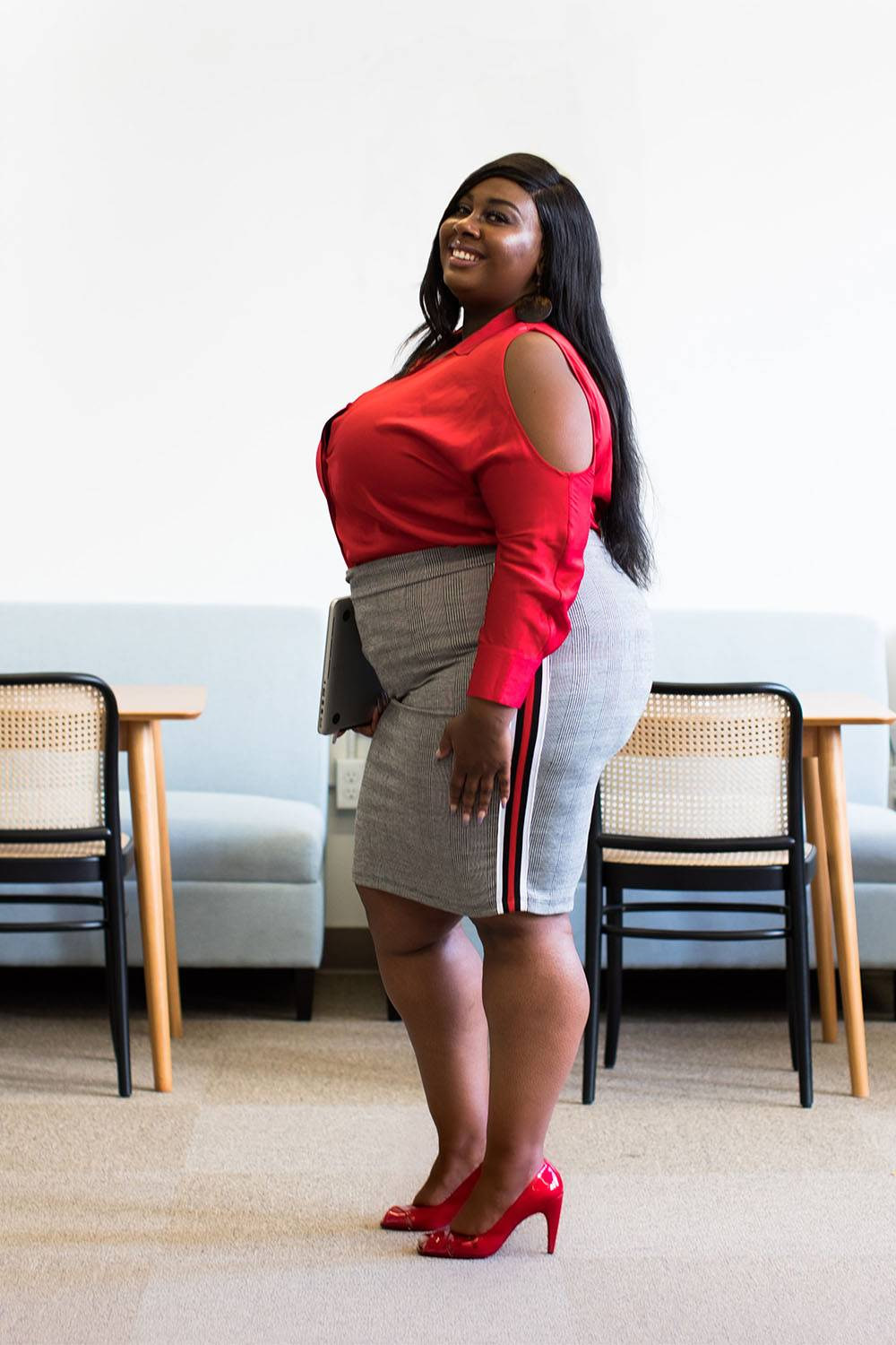 how to dress sexier when overweight shoes