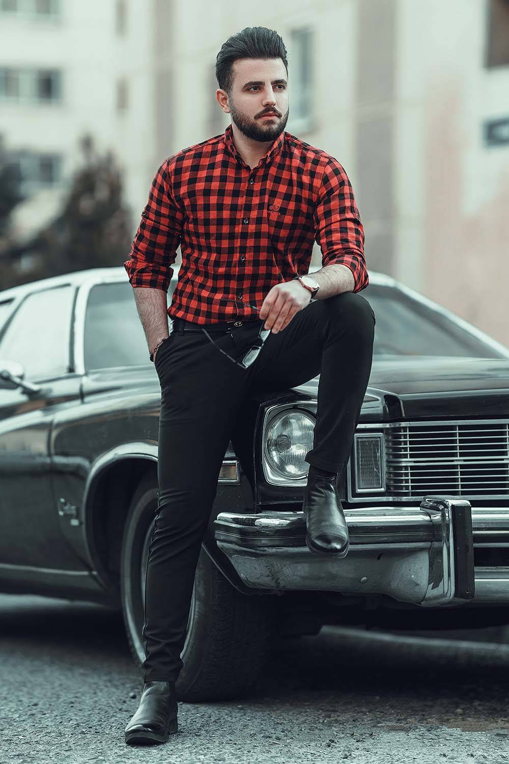 how to dress well men casual style