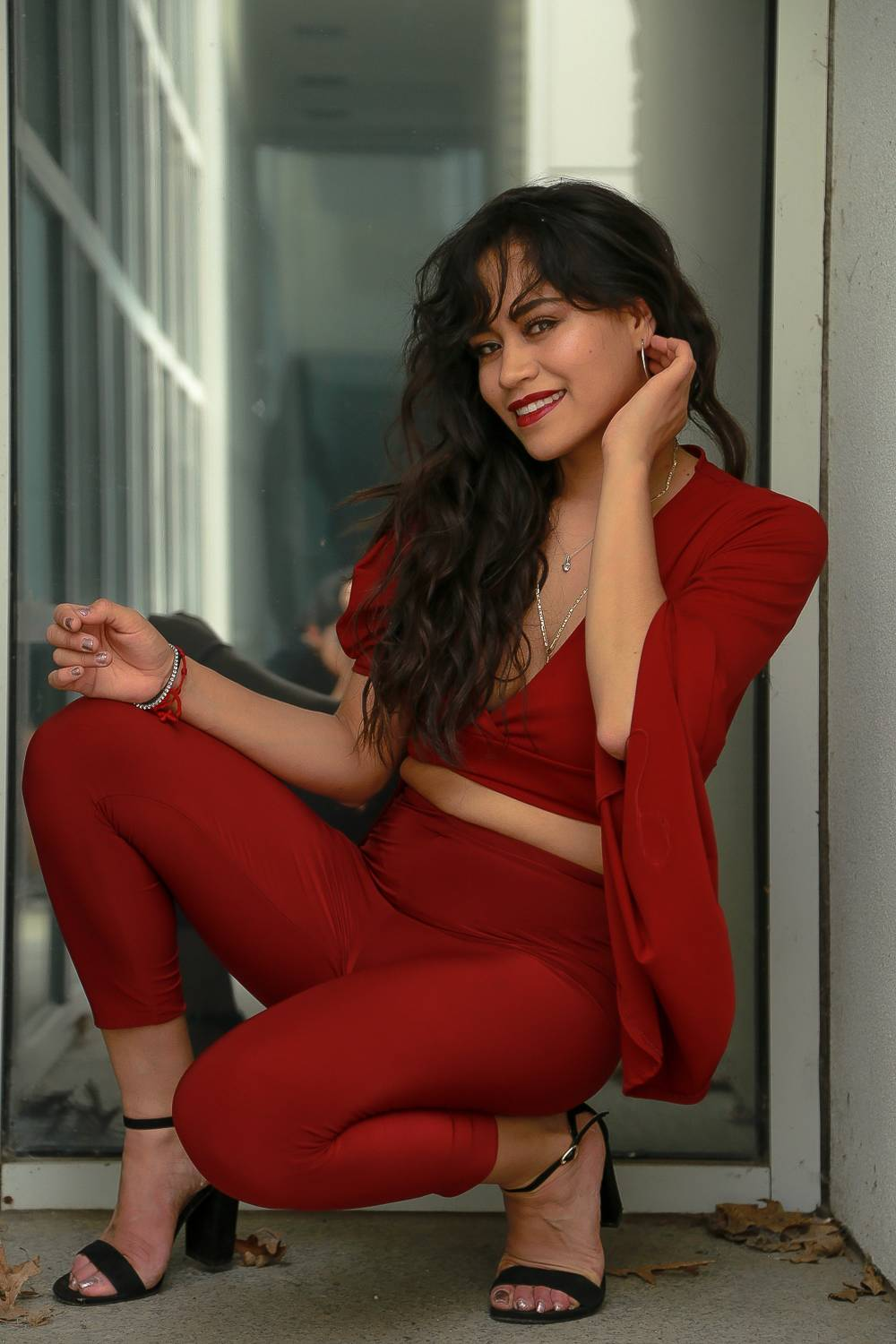 How To Look Hot In Casual Clothes red