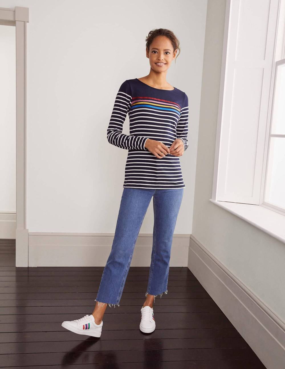 boden inverted triangle clothes