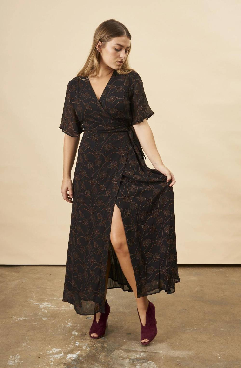 made trade inverted triangle dresses