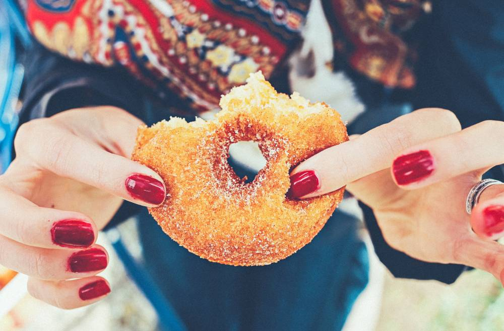 junk food donut gain weight