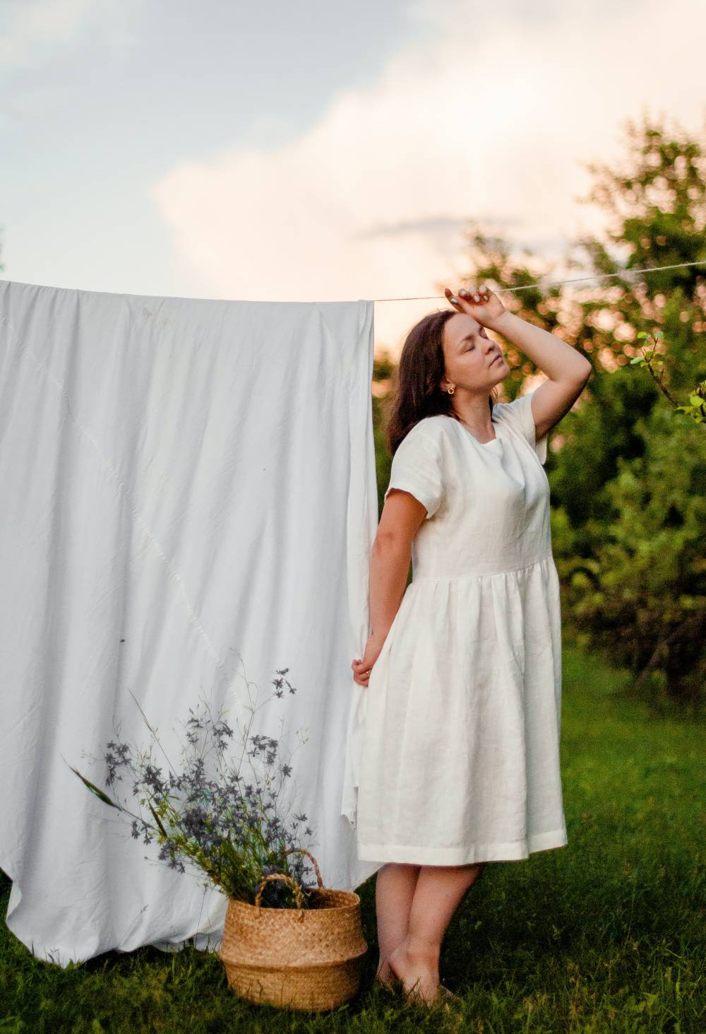 sustainable linen