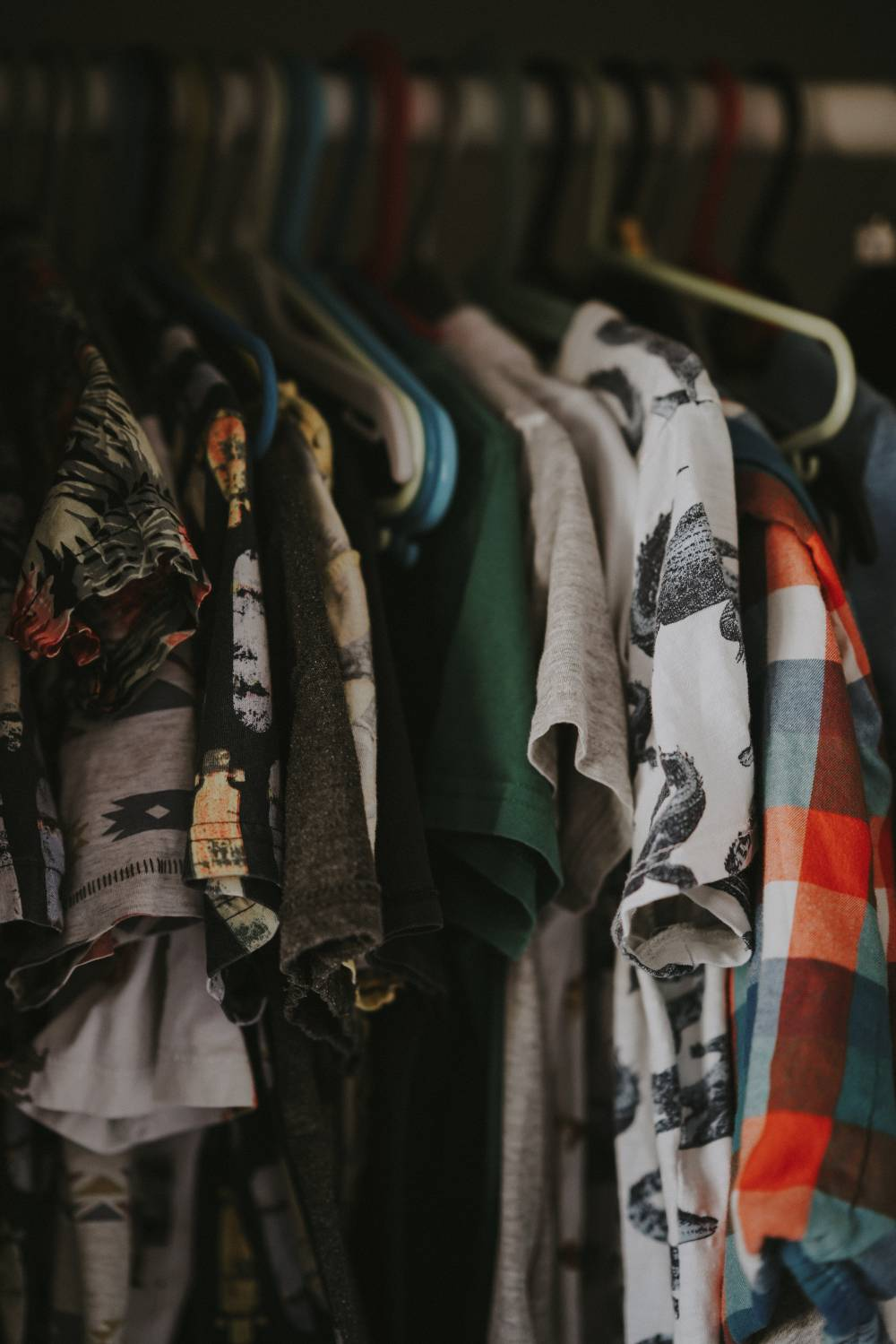 unwanted men clothes closet