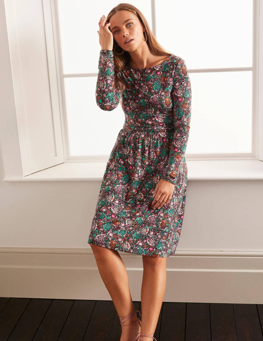boden comfortable affordable house dress