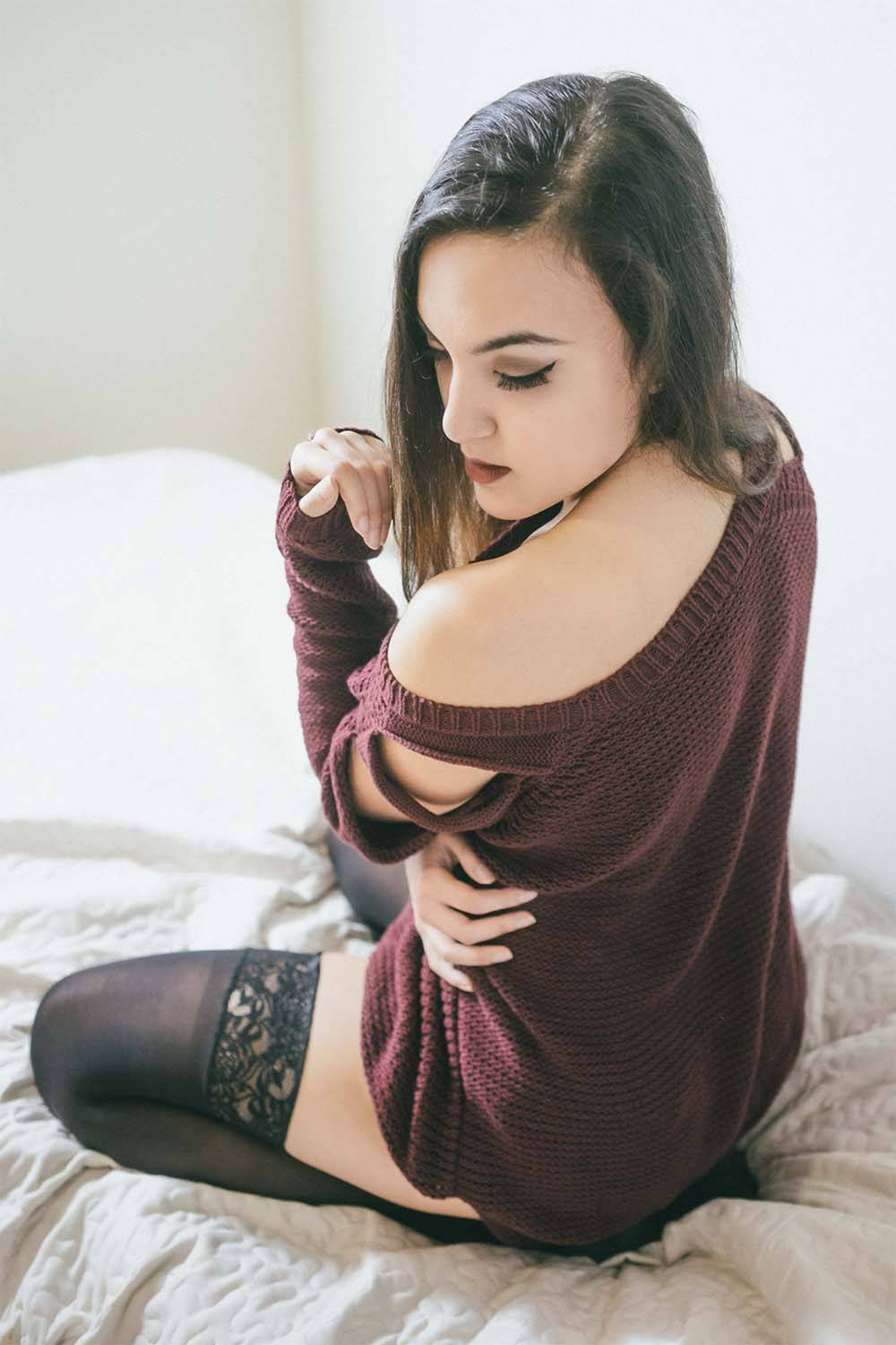 stockings outfits guys find attractive