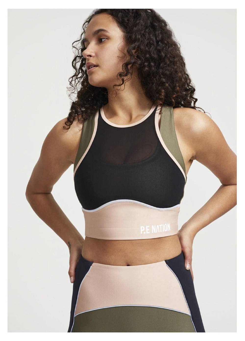 pe nation sports bra pin