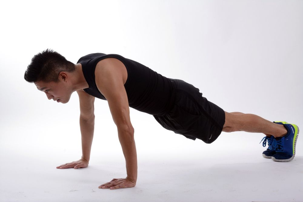 plank pose power yoga weight loss