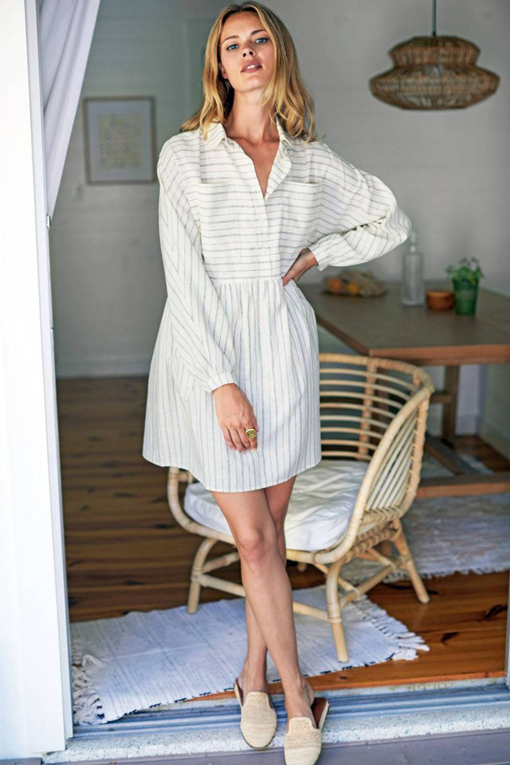 emerson fry summer dress made in usa