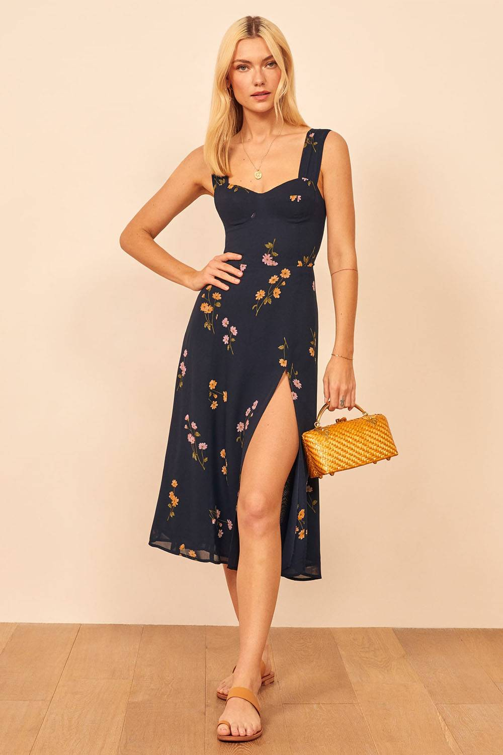 reformation american made affordable summer dress