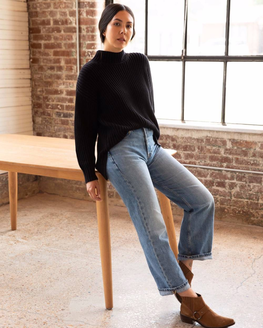 able sustainable clothing brand jeans
