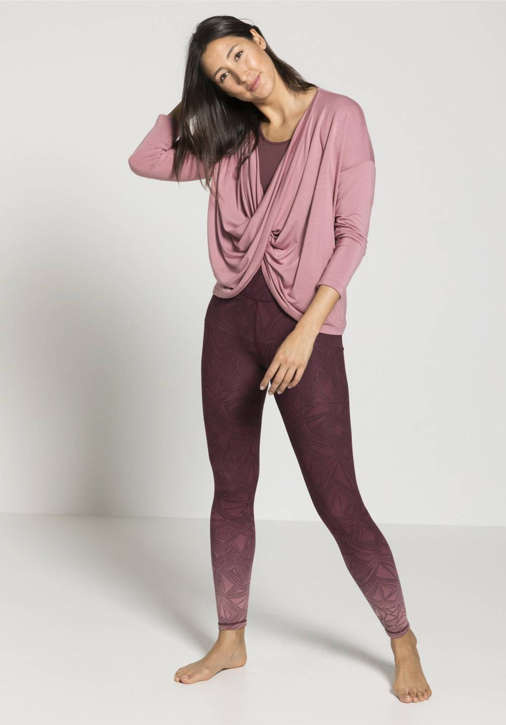 hessnatur sustainable european yoga clothes