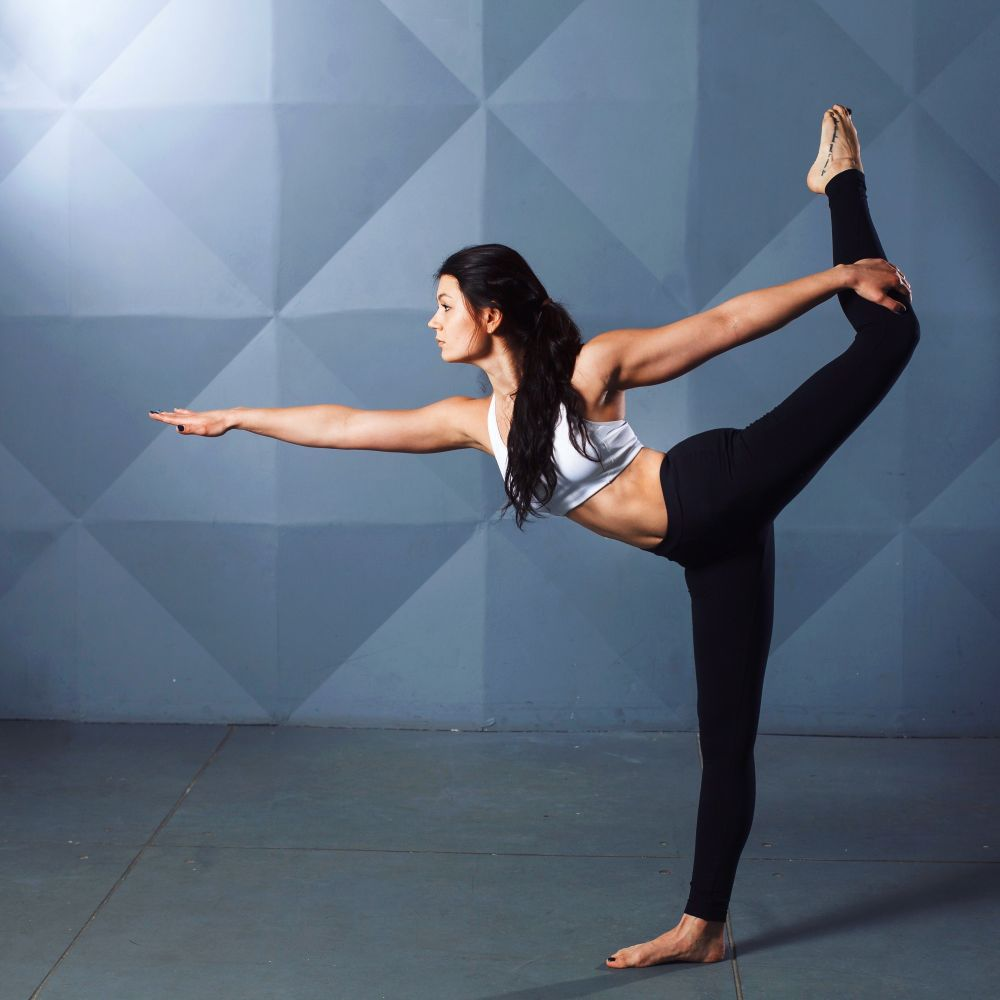 yoga blood circulation dancer pose
