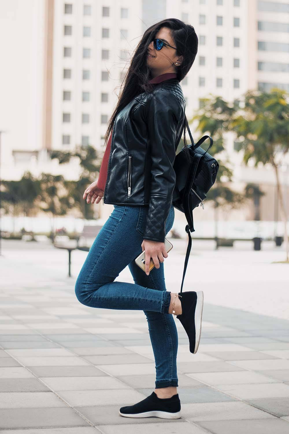 what wear first date leather