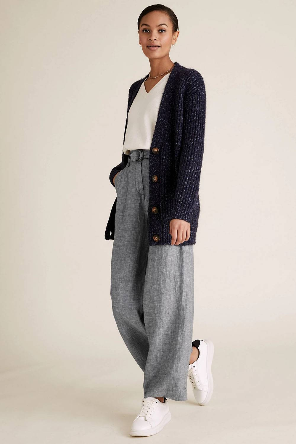 marks spencer rap concert baggy trousers