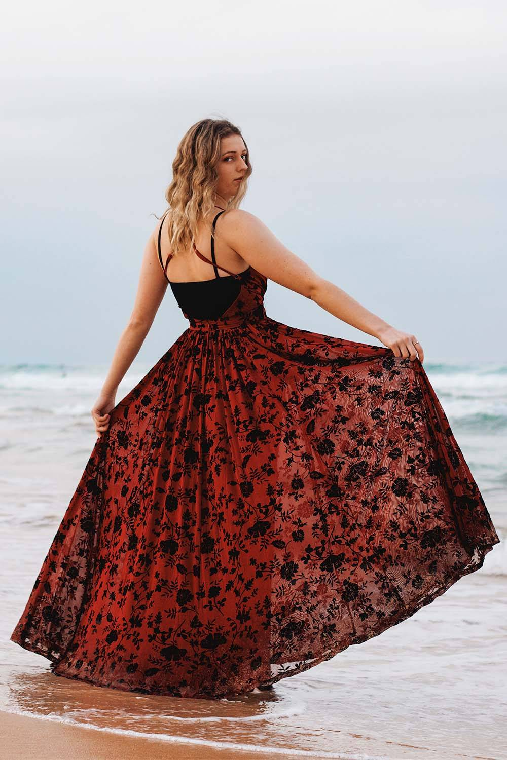 formal dress beach night outfit
