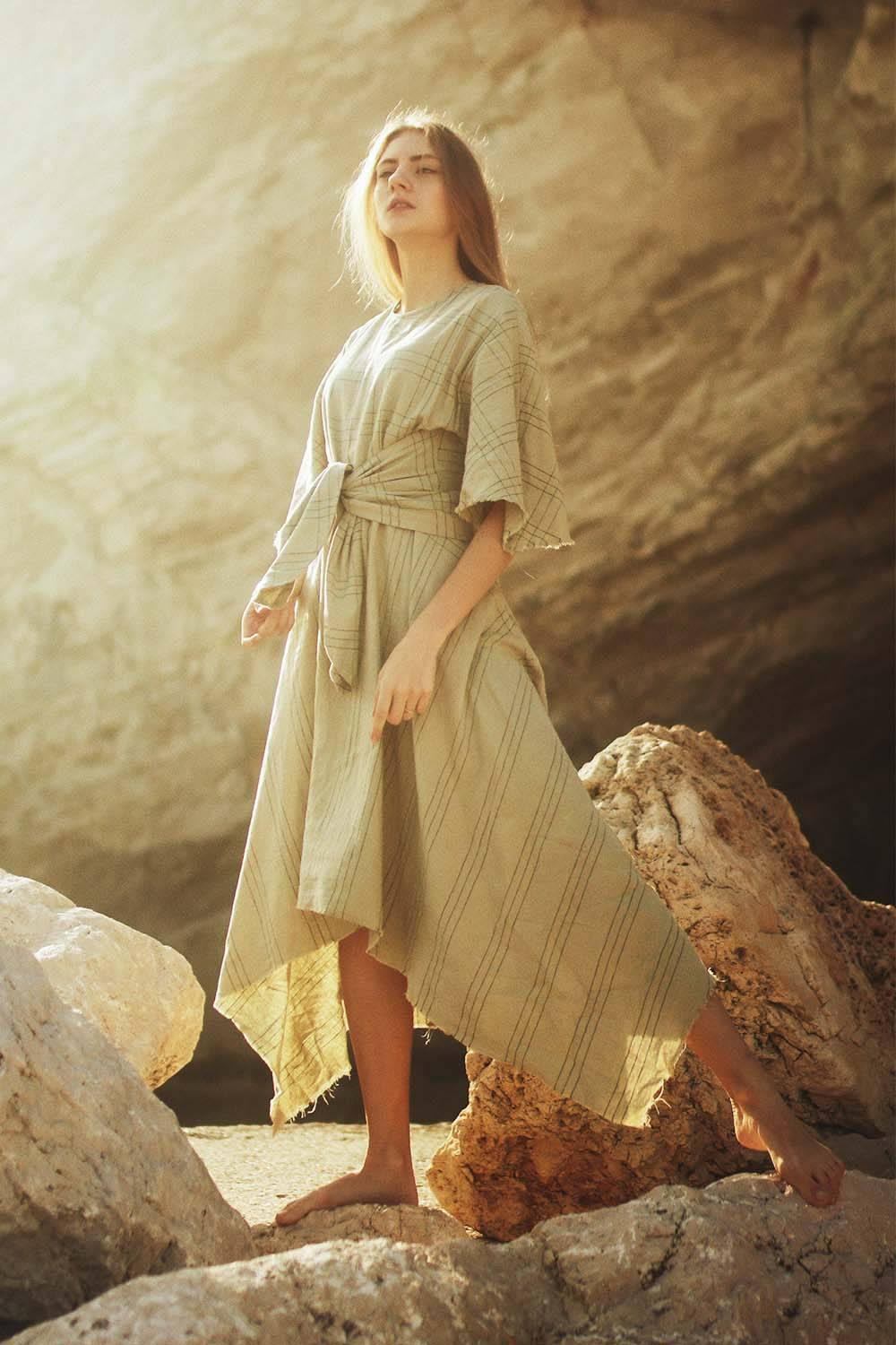 linen clothing beach night outfit