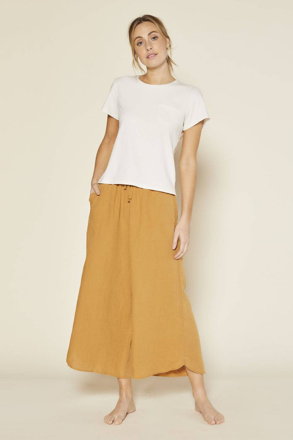outerknown ethical women linen pants