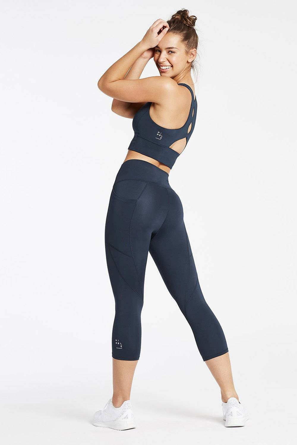 nimble activewear leggings with pockets